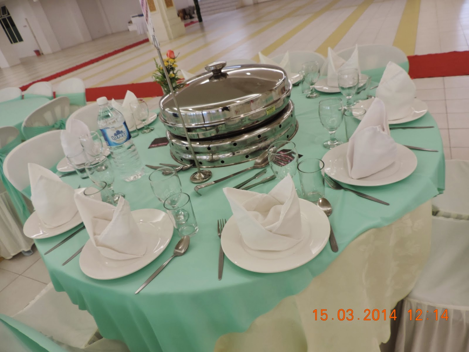 Hidangan Makan Beradab Susun Atur Meja Vip Ibunda Catering Services Wedding Dewan Masjid Ar Rahar