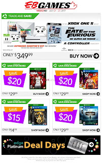 EB Games Canada Flyer July 21 – 27, 2017