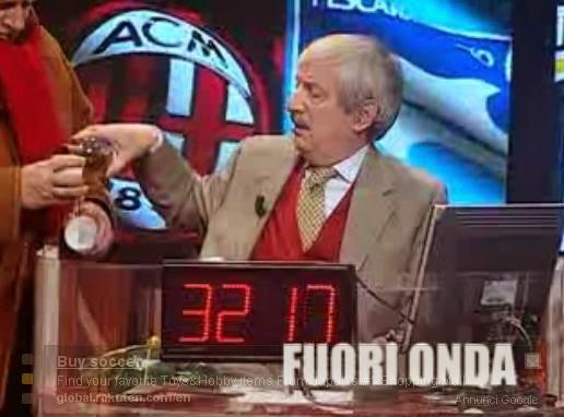 Milan-Pescara 4-1 Tiziano Crudeli ubriaco a Direttastadio ...