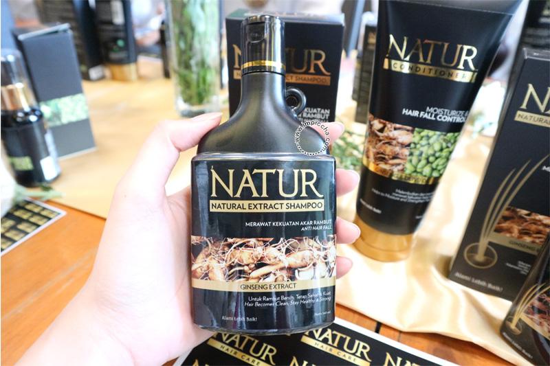 Shampoo Natur Gingseng Extract