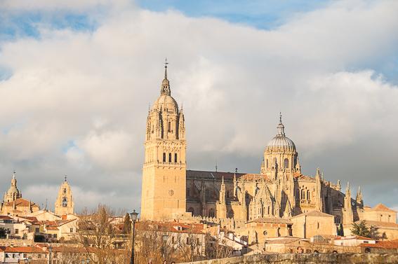 Salamanca vista desde el puente romano