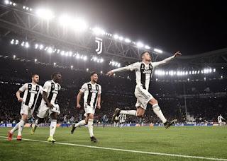 Ronaldo Sends Juventus Into Champions League Quarter Finals