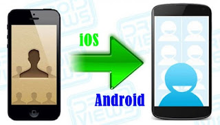 Import Contact from iPhone to Android