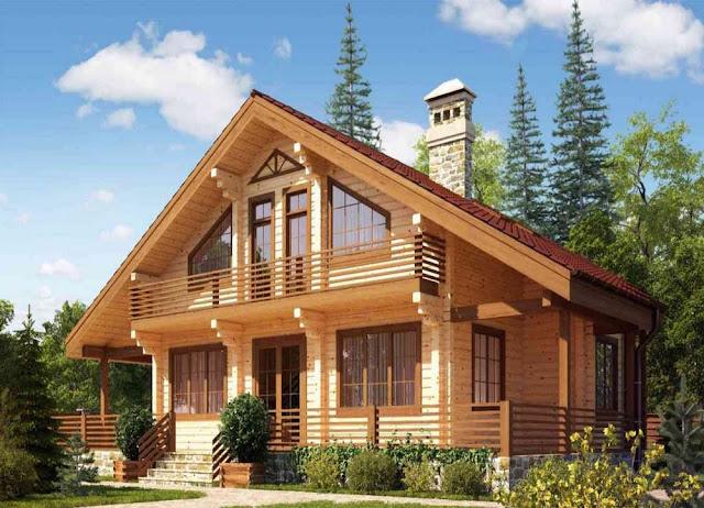 Строим дом из профилированного бруса в Крыму