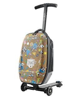 Steve Aoki Ride on Cabin Luggage