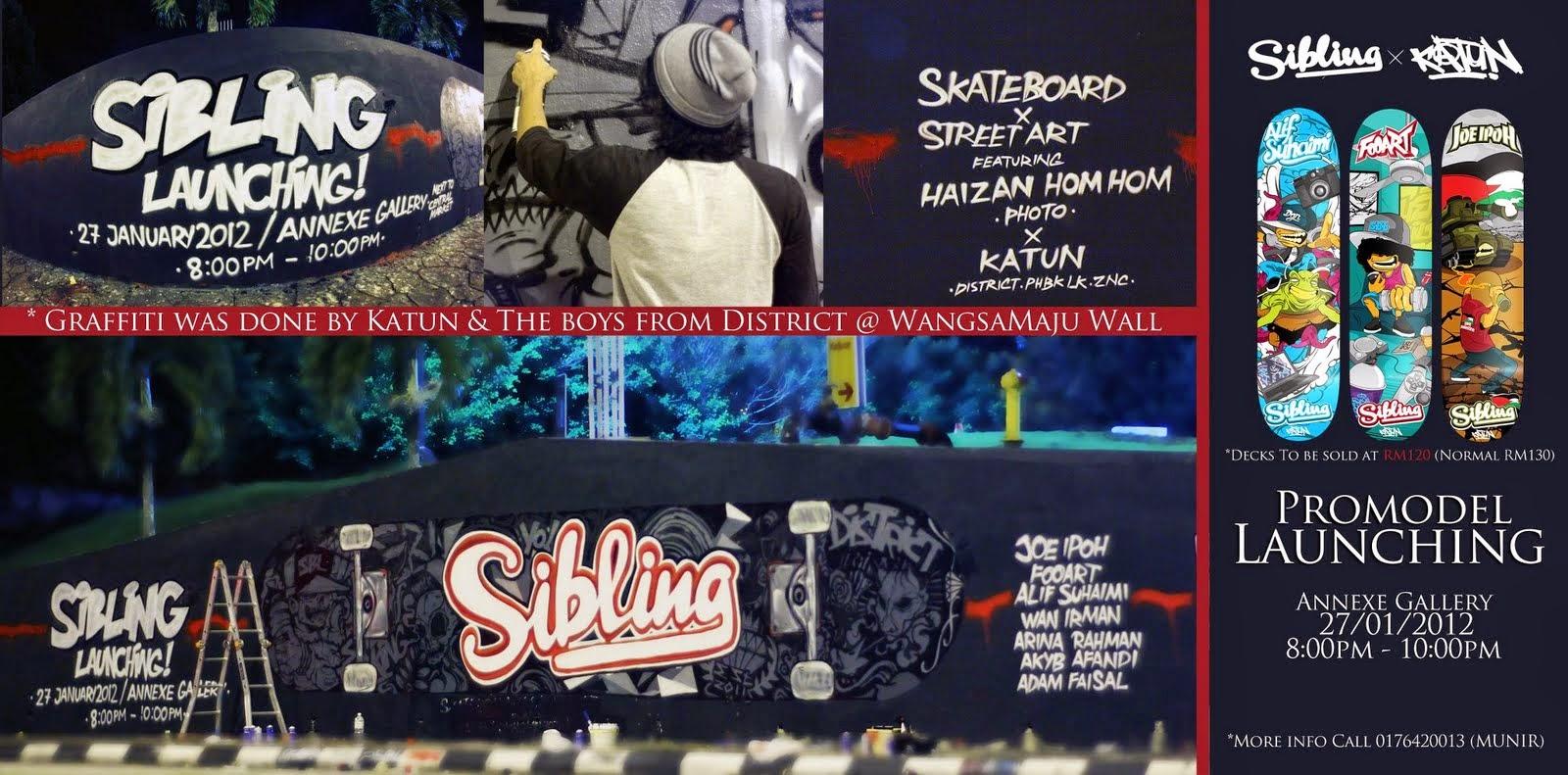 Skateboard dan seni graffiti