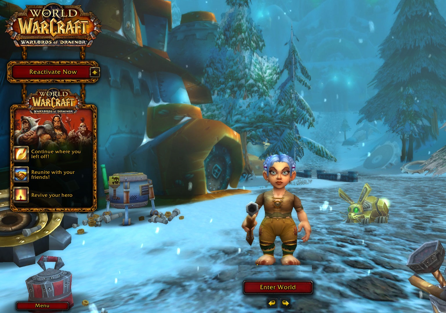Inventory Full: Gnome Is The Hunter : WoW