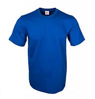 Kaos Polos Ultra Soft Royal Blue