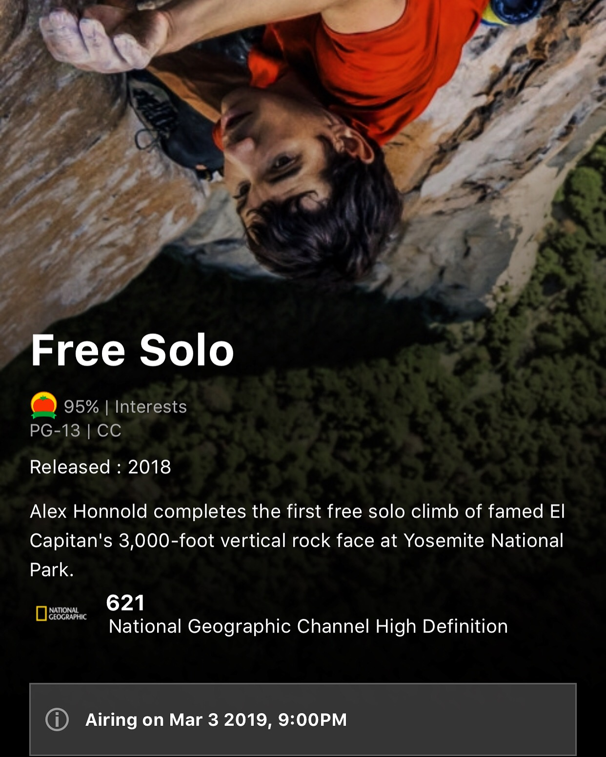 Oscar Winning Documentary on NatGeo Tonight | Content in a