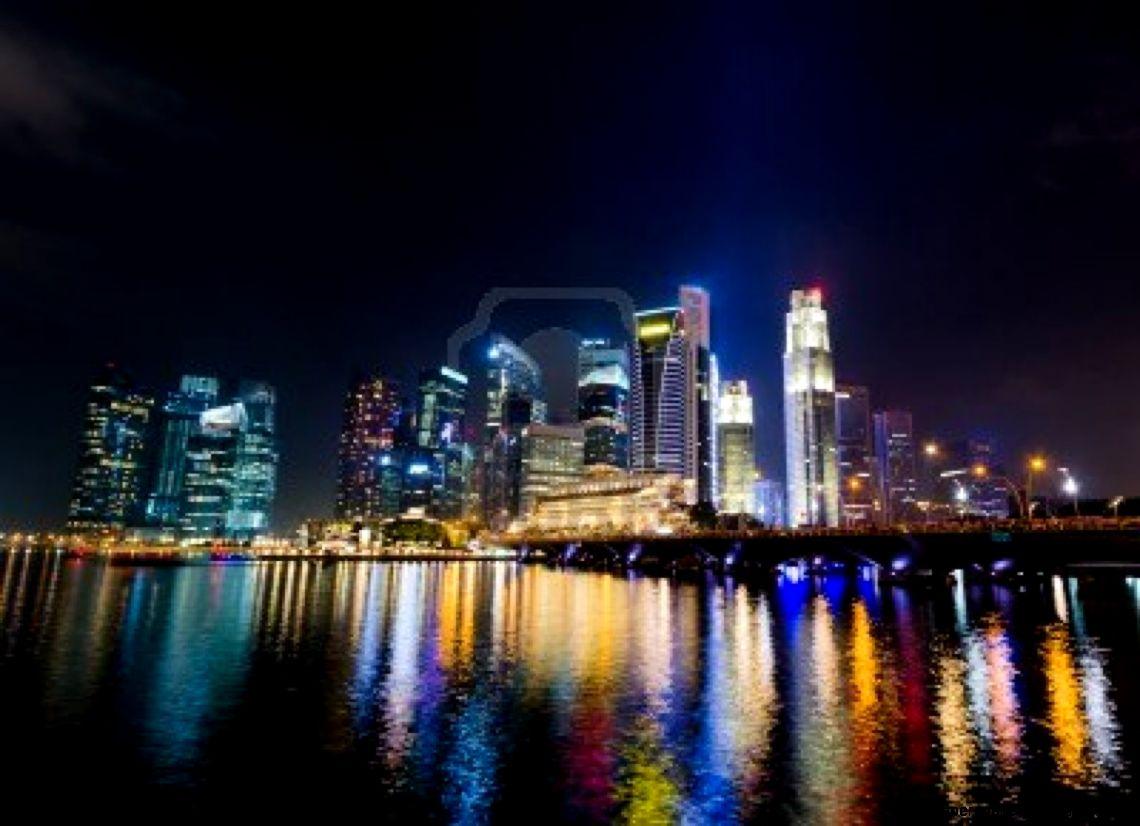 City skyline at night hd wallpapers gallery - Skyline night wallpaper ...