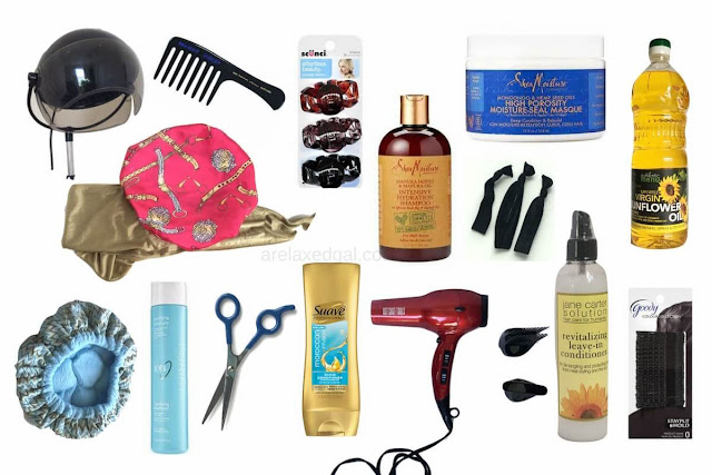 15 must-have hair products and tools for maintaining healthy hair. | arelaxedgal.com