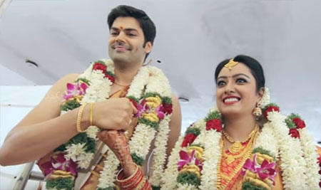 Actor Ganesh Venkatram & Nisha Krishnan Fairytale Wedding Video