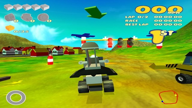 Download LEGO Racers 2 PC Gameplay