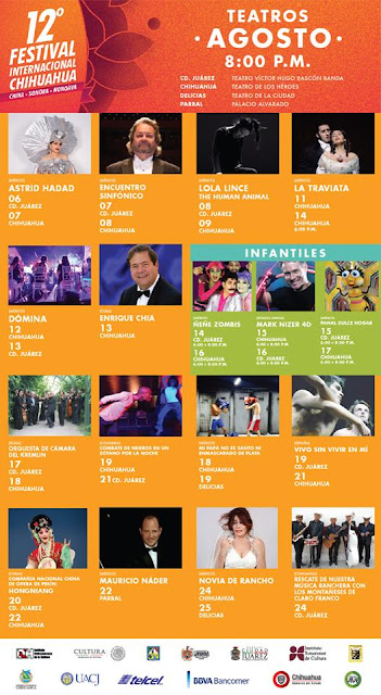 teatros festival chihuahua 2016
