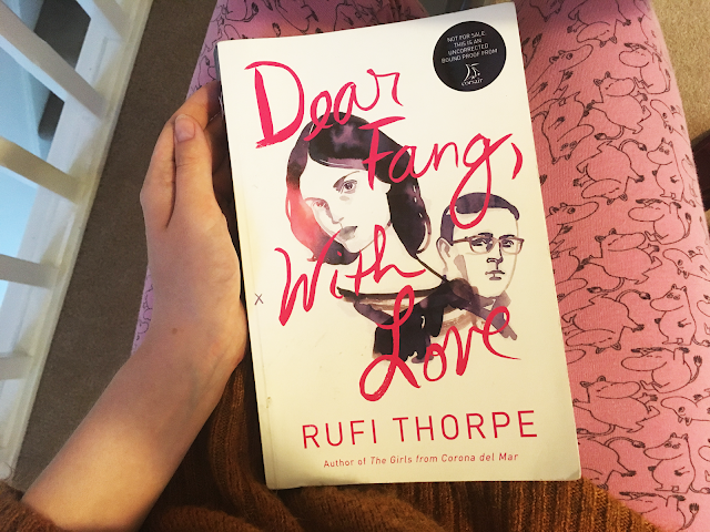 Interview: Rufi Thorpe, the author of Dear Fang, With Love from Corsair Books