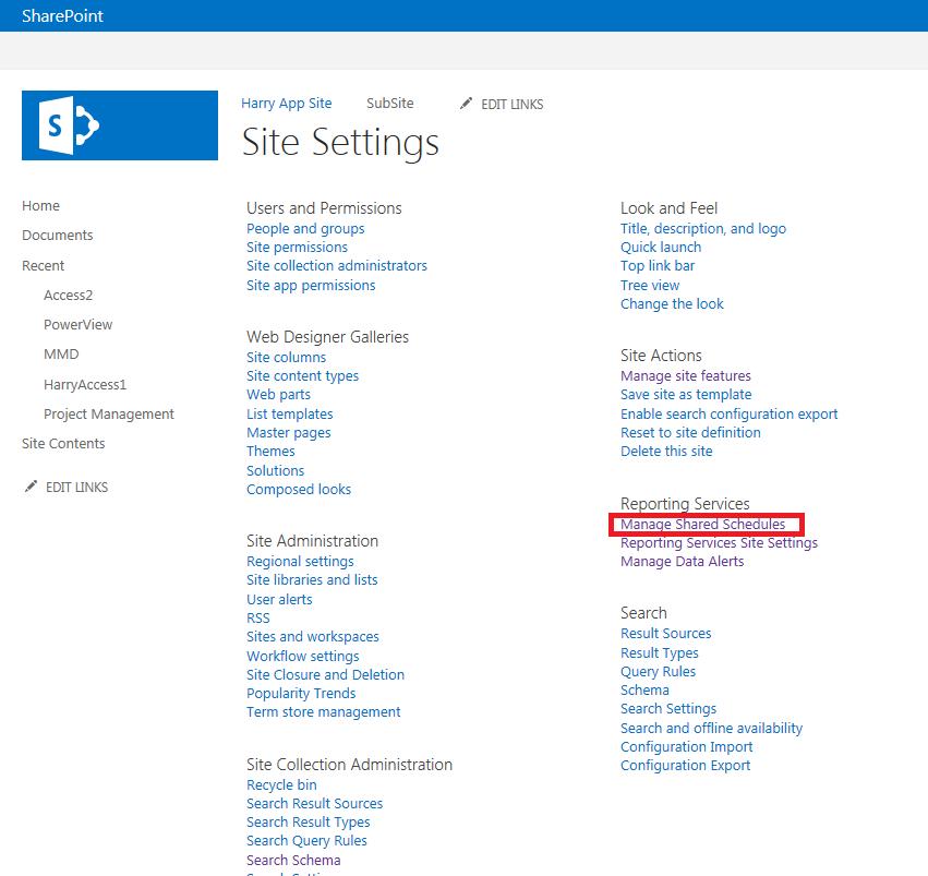 "Error Log: SharePoint Connoisseur: Error When Clicking ""Manage Shared"