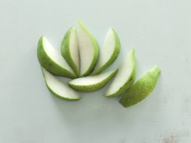 Pear Slices: Grow Creative Blog
