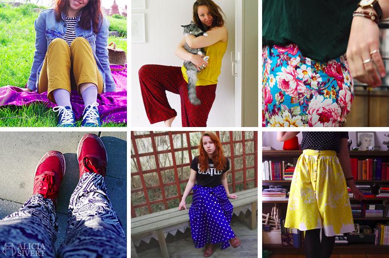 aliciasivert alicia sivert sivertsson monthly makers skapa skapande utmaning bloggutmaning blogg kreativitet tema kläder augusti 2017 återbruk sy sömnad