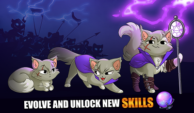 Download Castle Cats Apk Mod Unlimited Gems