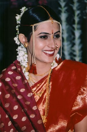 Maharashtrian bridal makeup pictures All About Bridal House Bridal dressesBridal make up