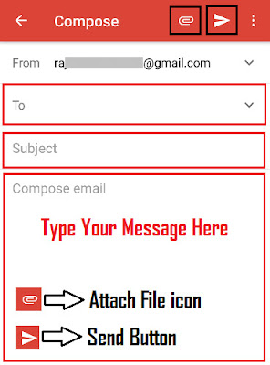 how to send email in gmail step by step