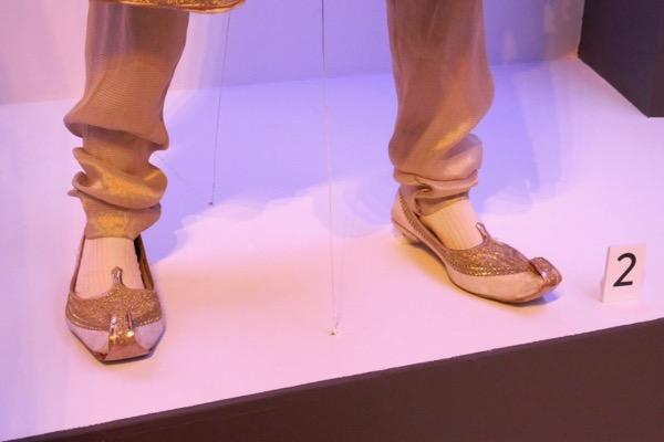 Abdul Karim slippers Victoria Abdul