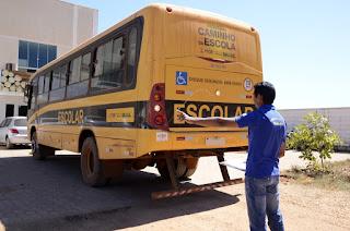 Transporte escolar de Cuité, Nova Floresta, Barra de Santa Rosa, Damião, Sossego serão vistoriados sábado (08)