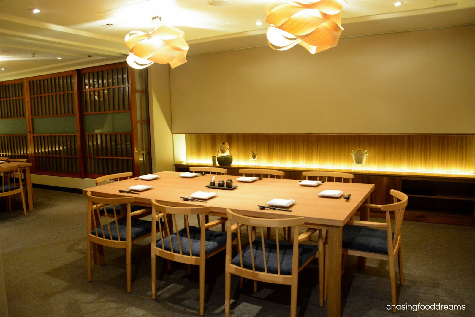 CHASING FOOD DREAMS Genji Japanese Restaurant  Hilton