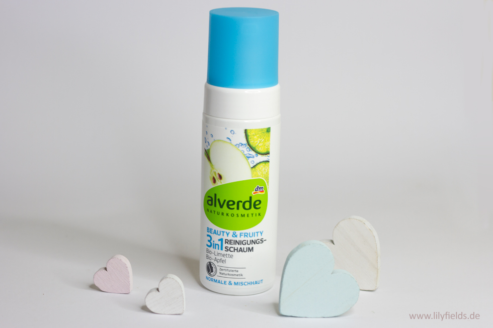 Alverde Beauty & Fruity 3in1 Reinigungsschaum