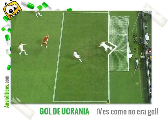 Chiste Eurocopa: Gol anulado de Ucrania