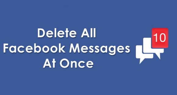 Delete Facebook Messages All at Once