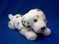 dalmatian plush stuffed animal large