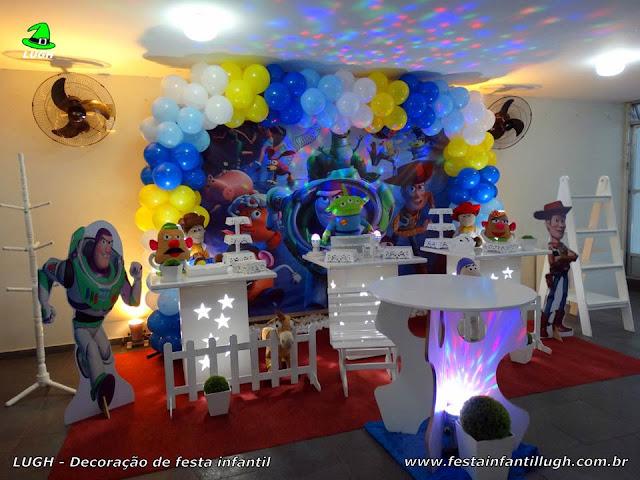 Decoração infantil Toy Story - Festa de aniversário - Provençal simples