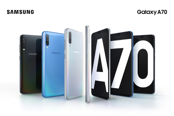 "SAMSUNG Galaxy A70 goes official with 6.7"" Infinity-U display, Samsung Pass, On-screen fingerprint sensor and 4500mAh battery"