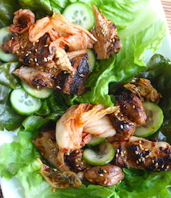 korean bbq chicken recipe by seasonwithspice.com