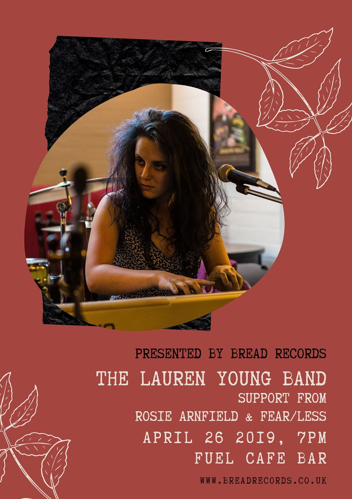 Lauren Young Band - Friday 26th April