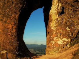 Pedra Furada no Morro do Campestre, Urubici
