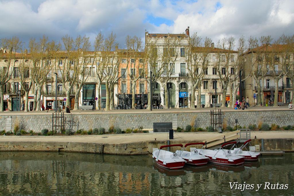 Promenade des Barques, Narbonne