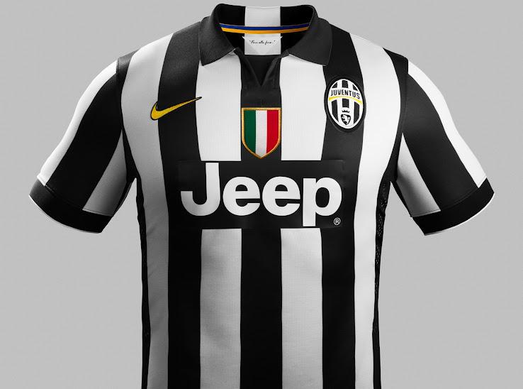 New Juventus Nike 2014-2015 Kits Released