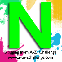 N is for Neon Green #AtoZChallenge