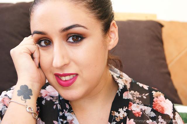 Makeup Look - Con un toque de lila.