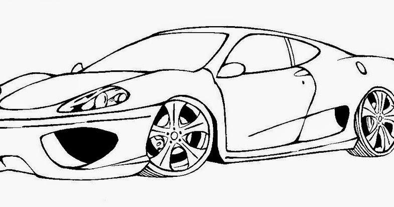Luxo Desenhos De Carros Para Imprimir Coloridos Melhores