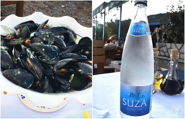 Jadran Kod Krsta: Mussels Buzara and Suza Water