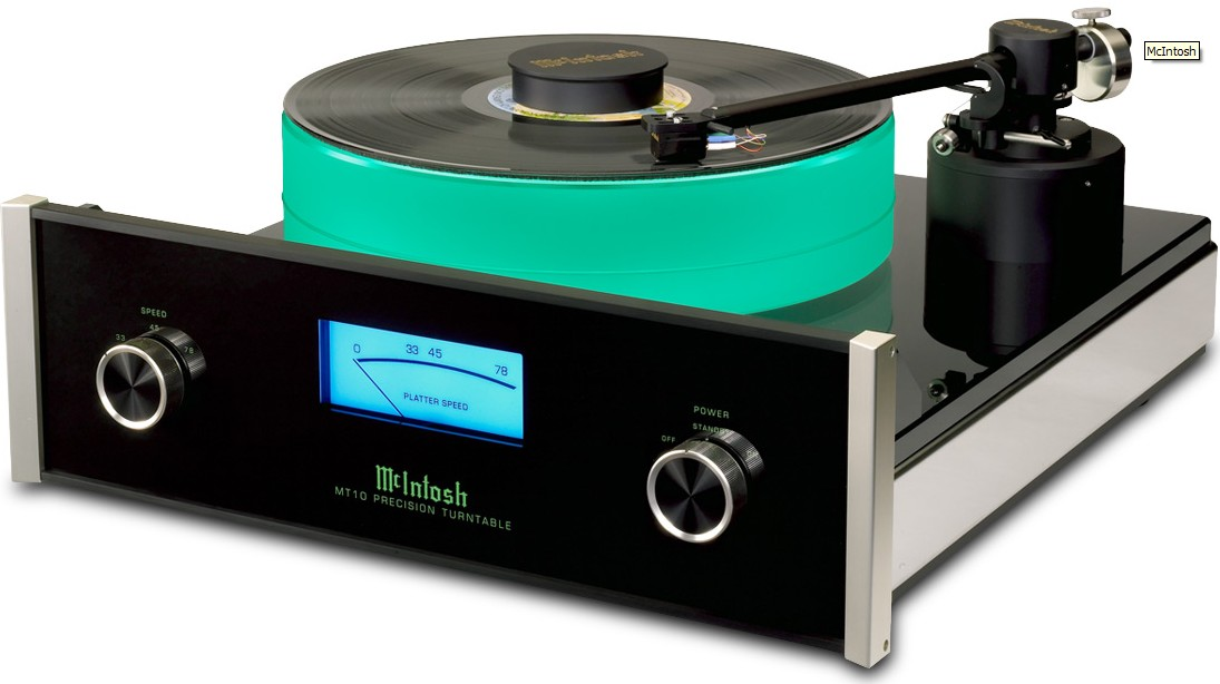 mcintosh mt10 une platine vinyle haut de gamme en b ne jean marie. Black Bedroom Furniture Sets. Home Design Ideas