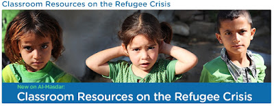 http://arabicalmasdar.org/classroom-resources-on-the-refugee-crisis/