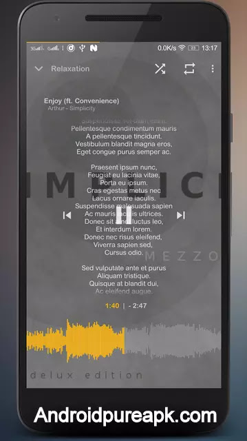 Music Player Mezzo Apk