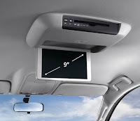 Mitsubishi All New Pajero Sport Dakar 4x2 Ultimate Fitur monitor plafon