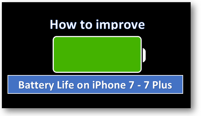 How to fix and improve Battery Life on iPhone running iOS ...