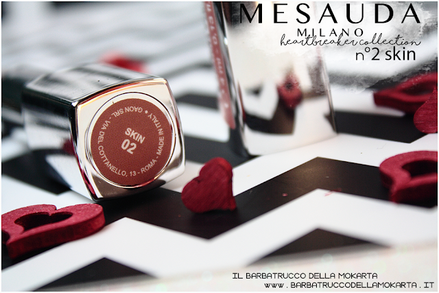 02 skin opinioni heartbreaker lipstick rossetto matt , matt lipstick mesauda