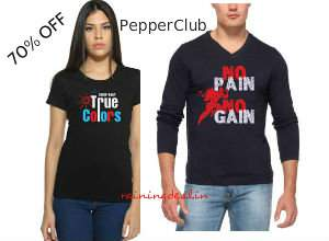 PepperClub Men Women Clothing 70% off from Rs. 220 Free Ship at Amazon rainingdeal